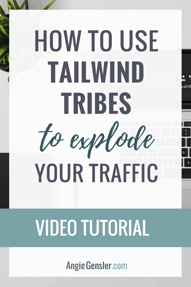 Video training on how to use Tailwind Tribes to explode your website traffic. Tribes is a free tool, quick to use, and drives traffic!