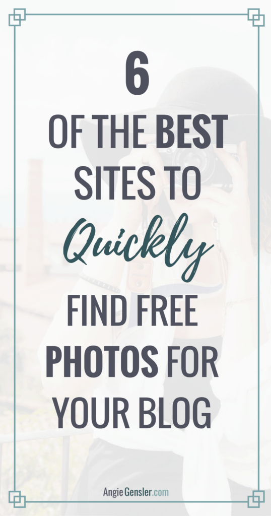 6 of the best sites to quickly find free photos