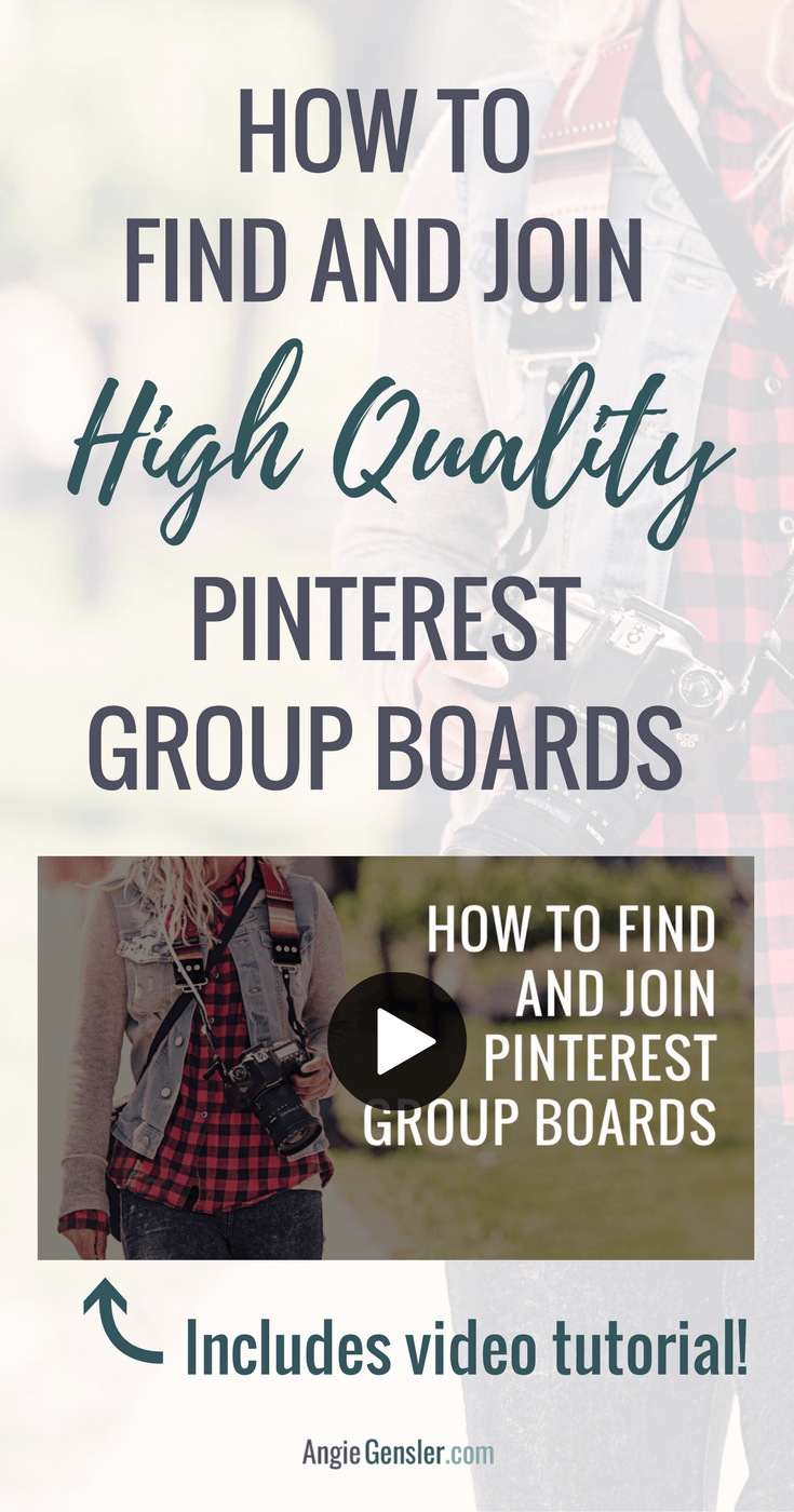 Are you struggling to find decent group boards? Watch this video tutorial on how to find and join high-quality Pinterest group boards.
