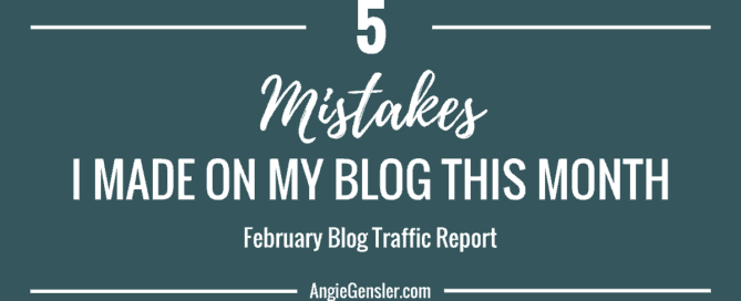 5 mistakes I made on my blog this month_solid
