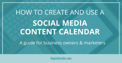 How to create and use a Social media content calendar-FB