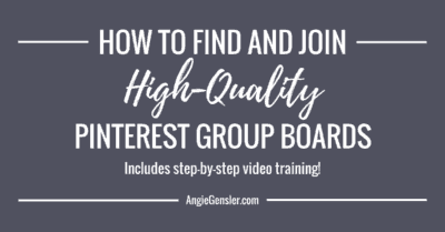How to find and join high quality pinterest group board_FB