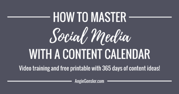How to master social media with a content calendar_solid