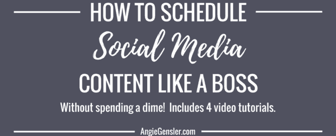 How to schedule social media content like a boss_fb