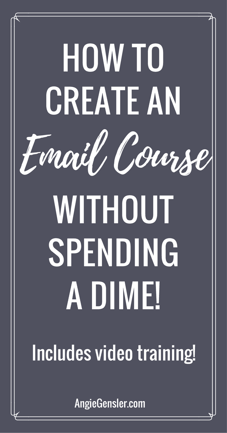 How to create an email course in 5 simple steps