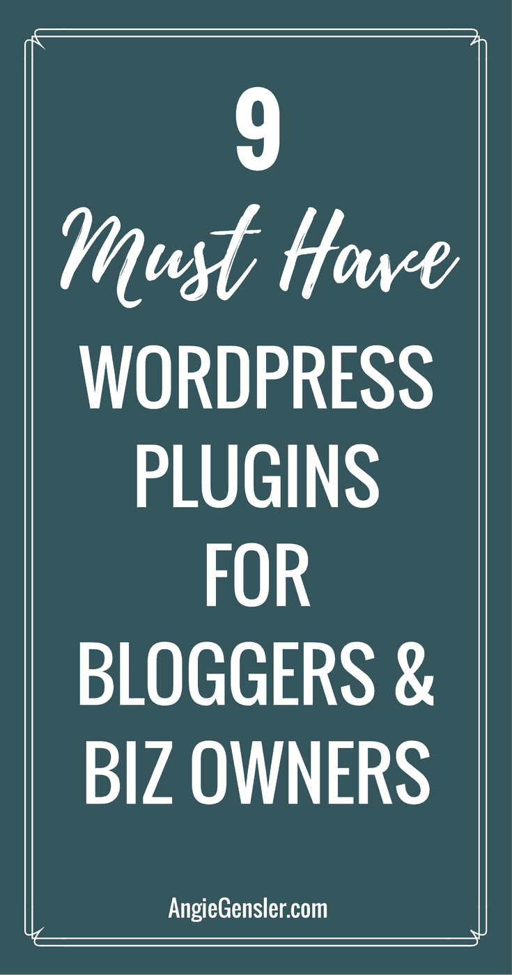 9 Must Have WordPress Plugins for Bloggers and Business Owners