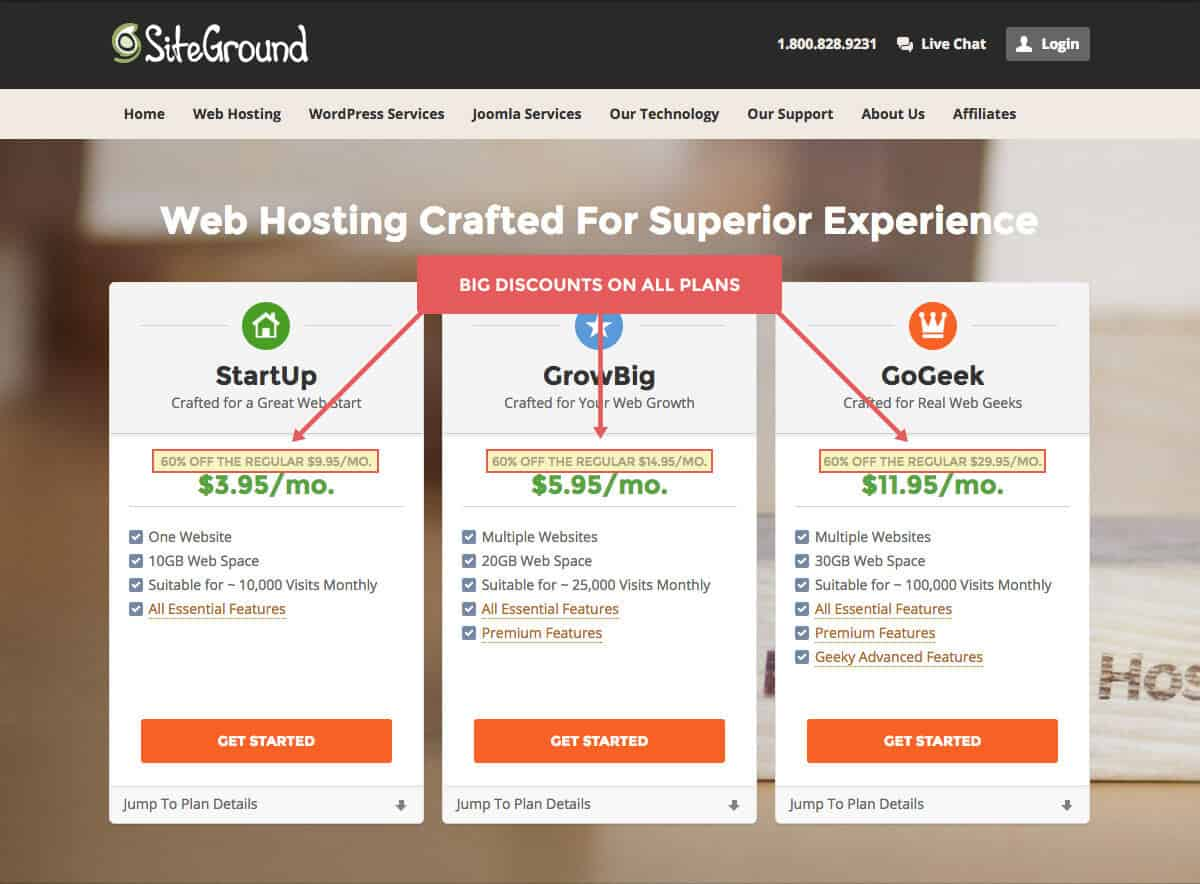 How to start a blog with SiteGround Hosting