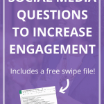 65 Social Media Questions to Increase Engagement-Pin