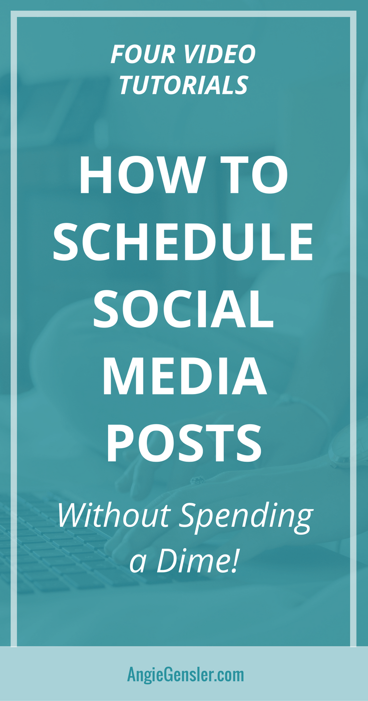 How to schedule social media posts-Pin2