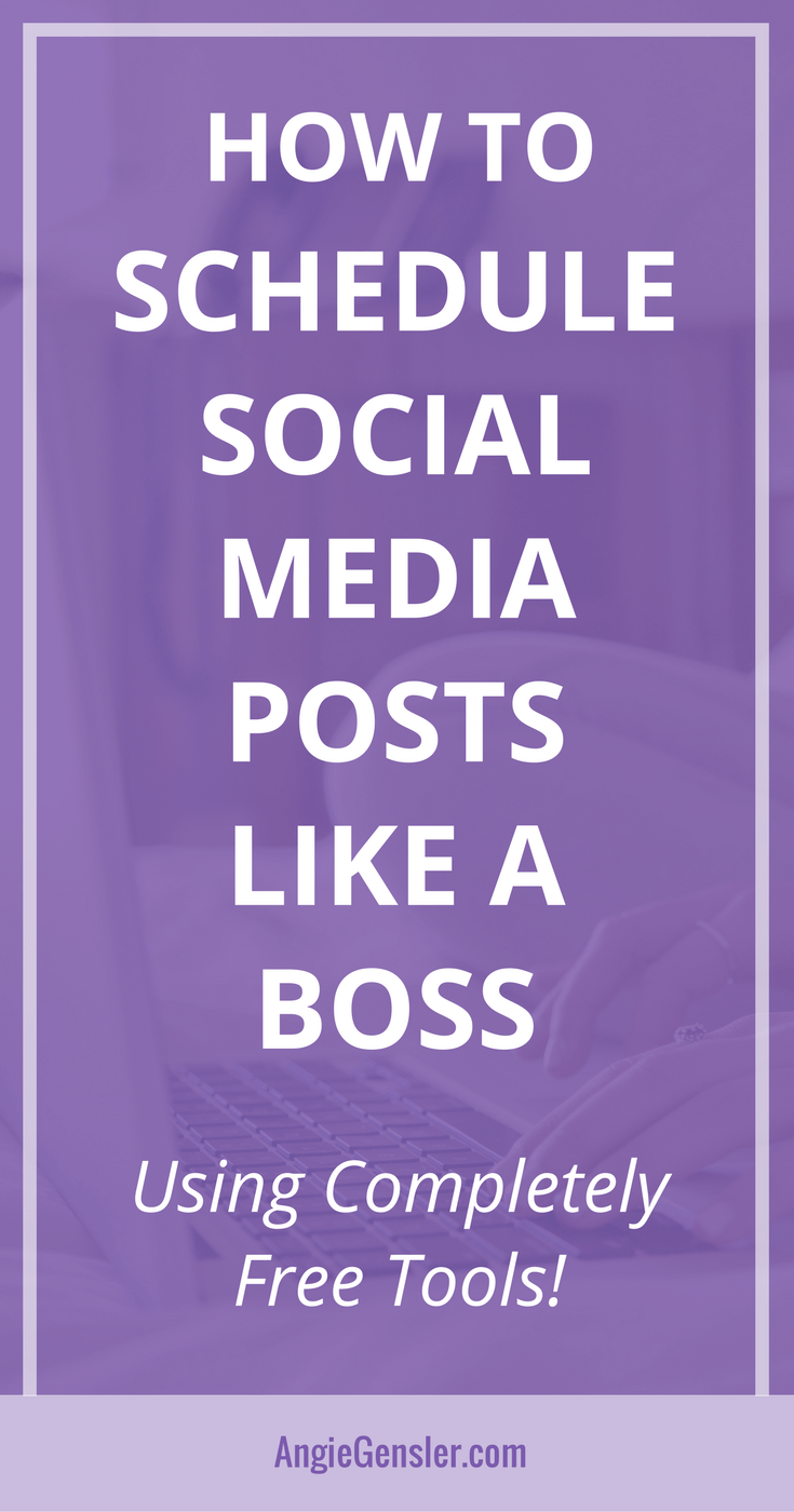 How to schedule social media posts-Pin3