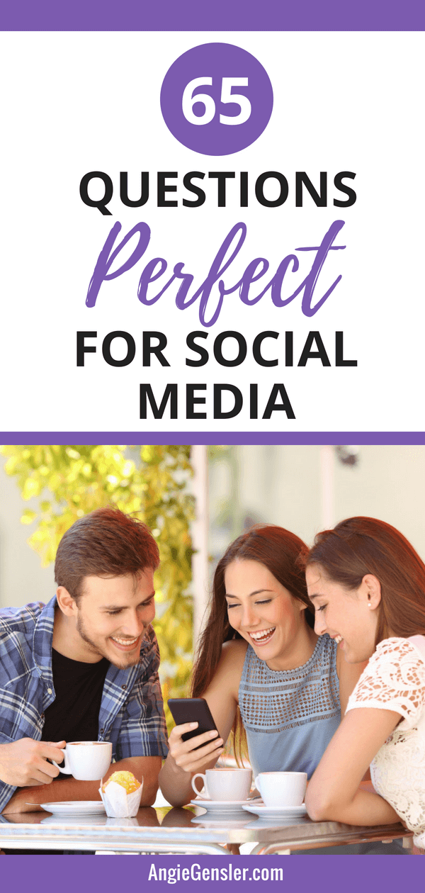 65 Quetions Perfect for Social Media