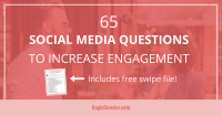 65 social media questions to increase engagement_FB