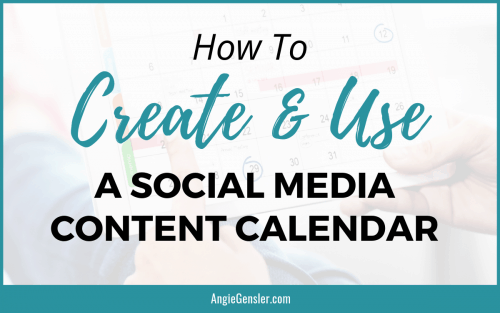 How to Create and Use a Social Media Content Calendar