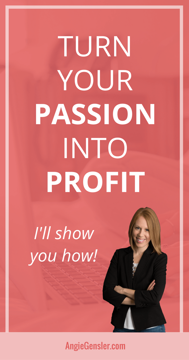 Are you ready to learn how to start and grow a profitable blog that transforms your passion into profit? Learn how at angiegensler.com.