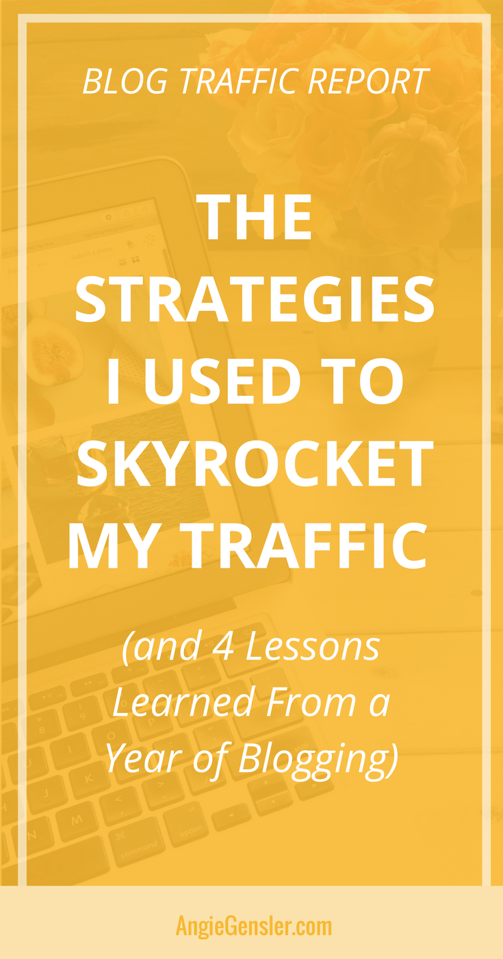 4 Lessons Learned_Website Traffic Report