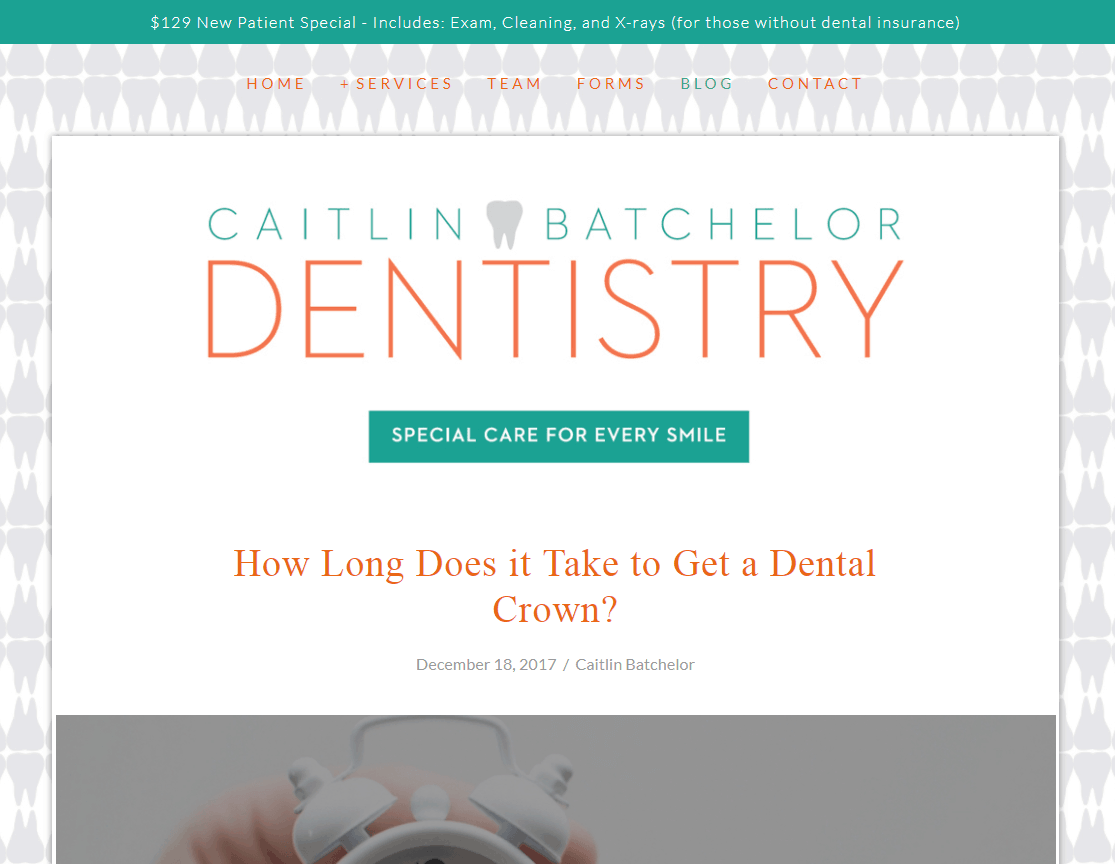 Caitlin Batchelor Dentistry
