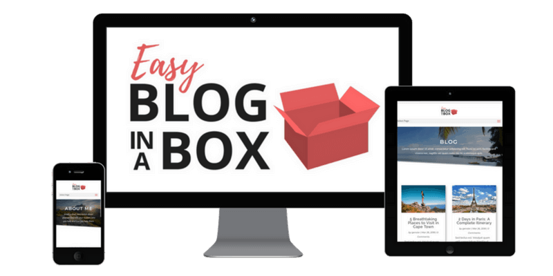 Easy Blog In A Box - Services Page