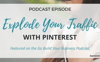 Podcast: Explode Your Traffic With Pinterest