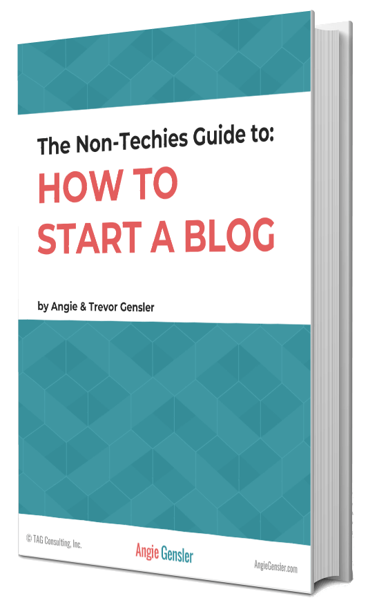 How to Start a Blog Ebook Cover