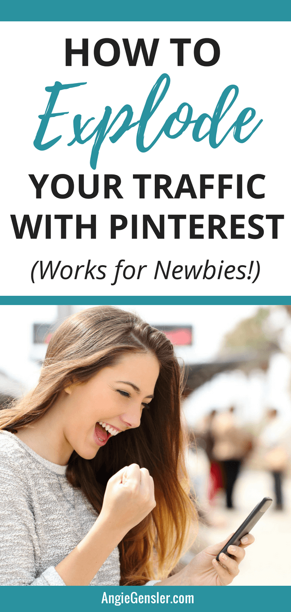 How to explode your traffic with Pinterest