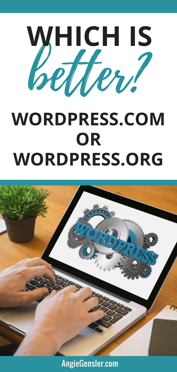 Which is better_Wordpress.com or WordPress.org
