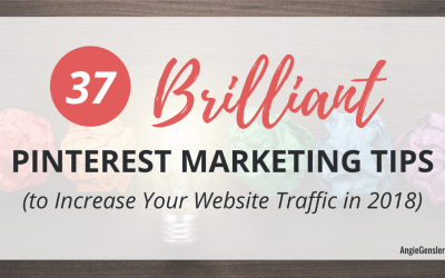 37 Brilliant Pinterest Marketing Tips (to Increase Your Website Traffic in 2018)