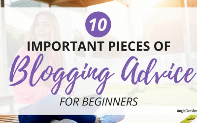 10 Important Pieces of Blogging Advice for Beginners (in 2020 and Beyond)