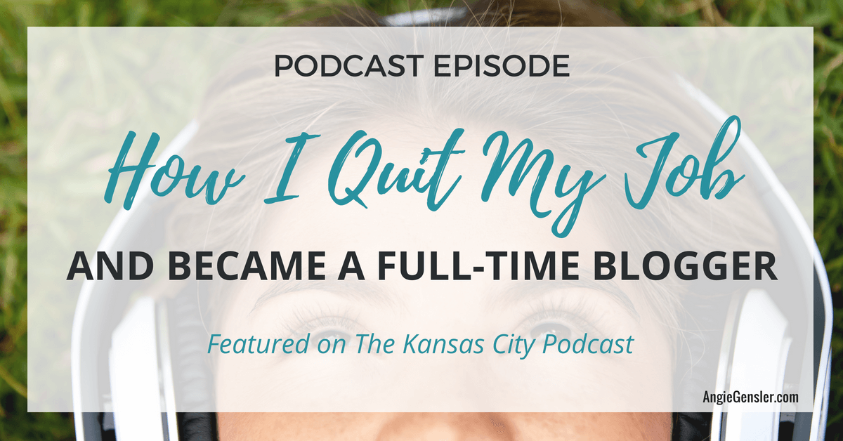 How I quit my job and became a full time blogger