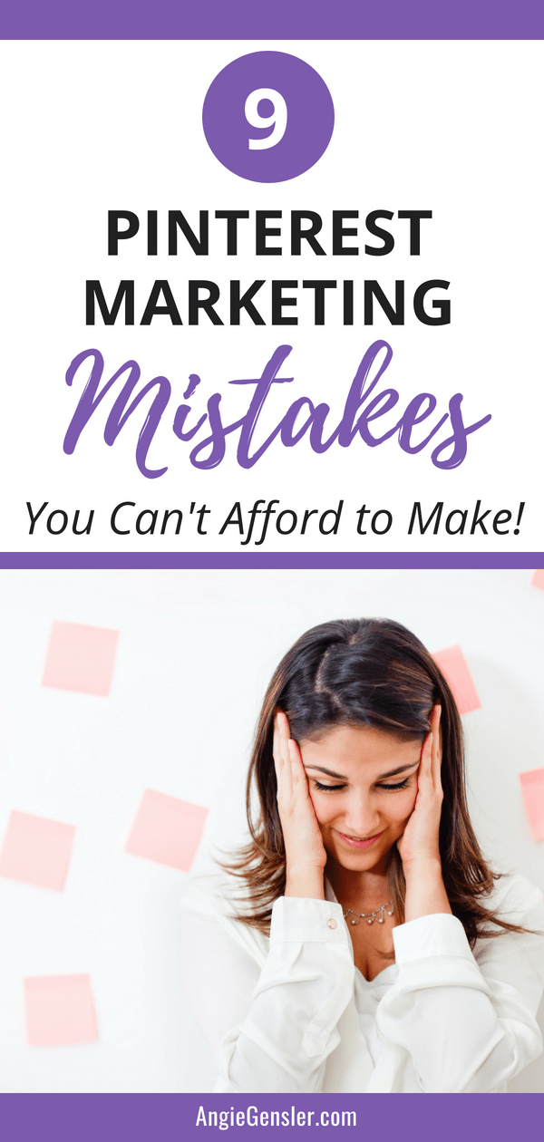 9 Pinterest Marketing Mistakes You Cant Afford to Make