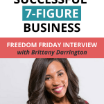 Quit her job and built a successful 7-figure brand