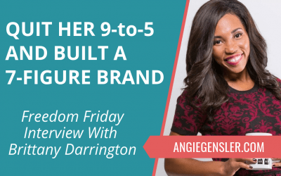Quit Her 9-to-5 Job and Built a 7-Figure Brand