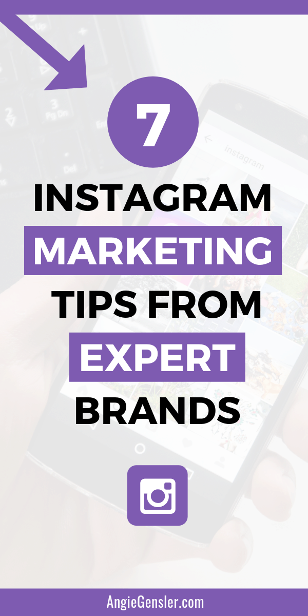 7 Instagram marketing tips from expert brands