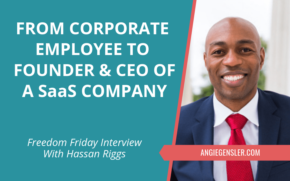Freedom Friday Interview with Hassan Riggs