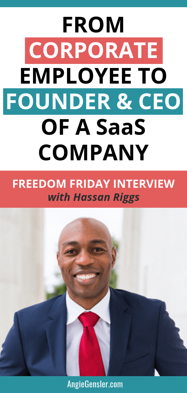 This Freedom Friday interview is with Hassan Riggs, Founder and CEO of Smart Alto. Hassan is a business and marketing expert and in this interview, he shares so many amazing tips and nuggets of wisdom. Click through to watch the full interview and hear Hassan explain how to simplify your message, communicate clearly, and learn what your customer needs. Plus, he shares his refreshing approach to entrepreneurship and how he views everything as an experiment. #angiegensler #freedomfriday