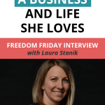Freedom Friday Interview_Laura Stanik