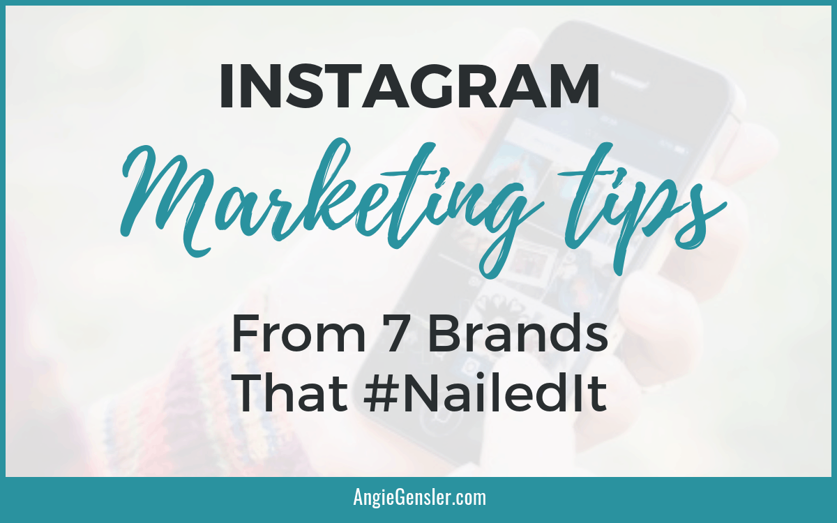 Instagram Marketing Tips from expert brands