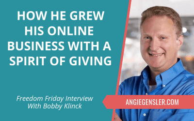 How He Grew His Online Business With a Spirit of Giving