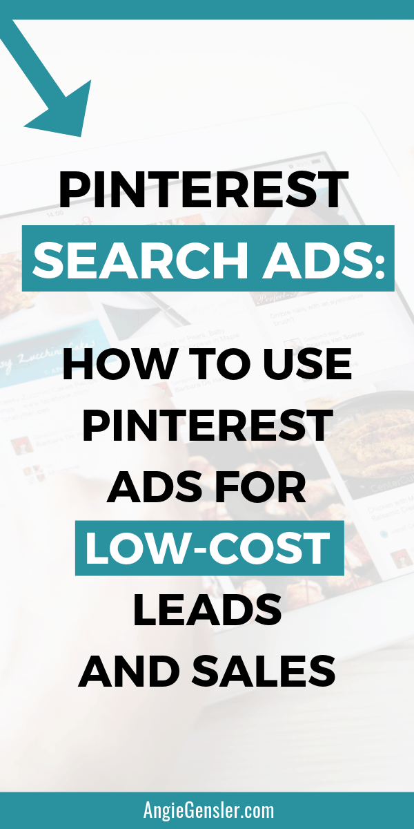 Pinterest Search Ads How to use Pinterest ads for low-cost leads and sales