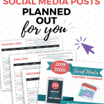 731 Days Of Social Media Posts Pin