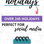 2020 March Holidays Pinterest