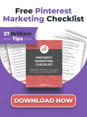 Home Page Free Pinterest Checklist