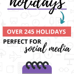 2020 August Holidays Pinterest
