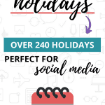 2020 July Holidays Pinterest