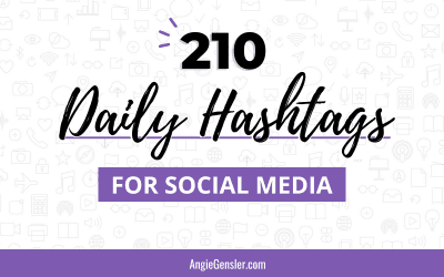 210 Daily Hashtags for Social Media – Most Popular Hashtags for 2021