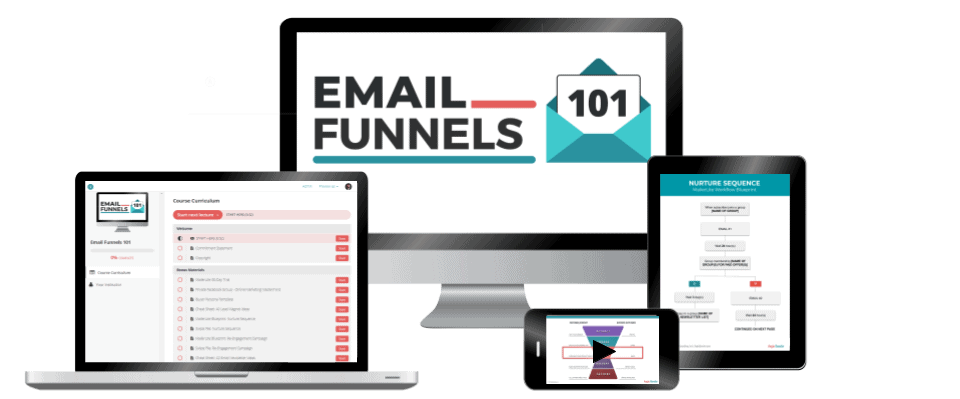 Email Funnels 101 Course Images