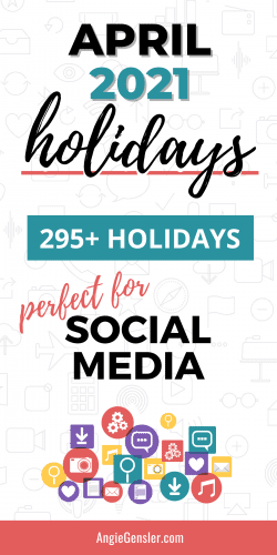 April 2021 Holidays Pinterest