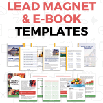 Opt In Lead Magnet Templates Pinterest Pin Images