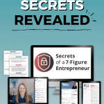 Secrets Of A 7 Figure Entrepreneur Course Social Image Pinterest