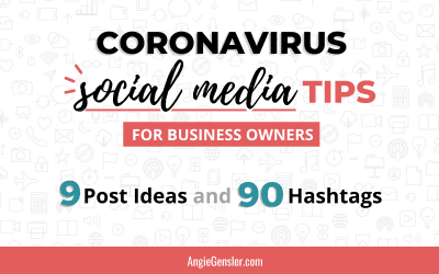 Coronavirus Social Media Tips for Business Owners
