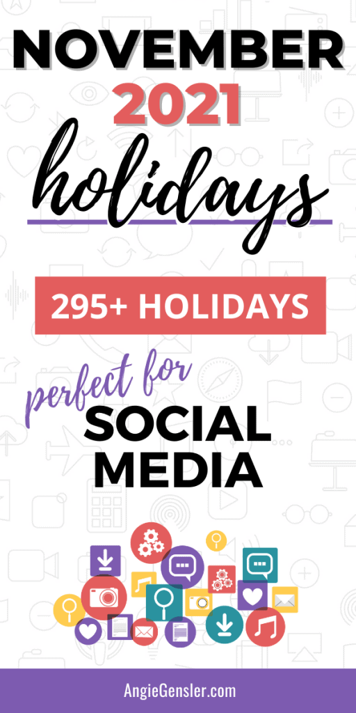 november 2021 holidays pinterest